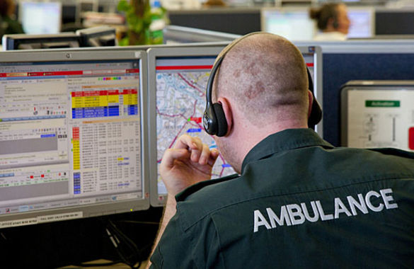 999 call is assessed and graded