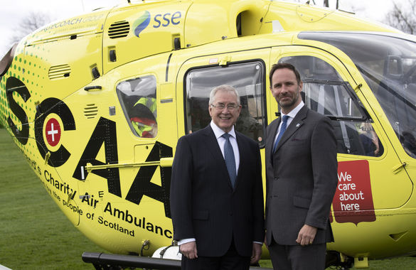 Plans For A Second Charity Helicopter Air Ambulance Are Announced